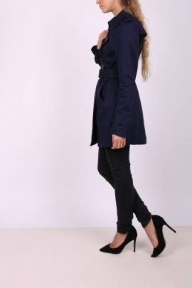 Trench Coat bleumarin