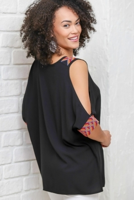 Modern  blouse with wide sleeves