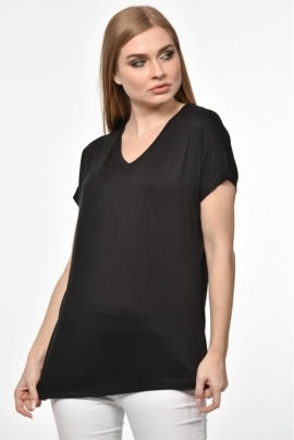 Black blouse with